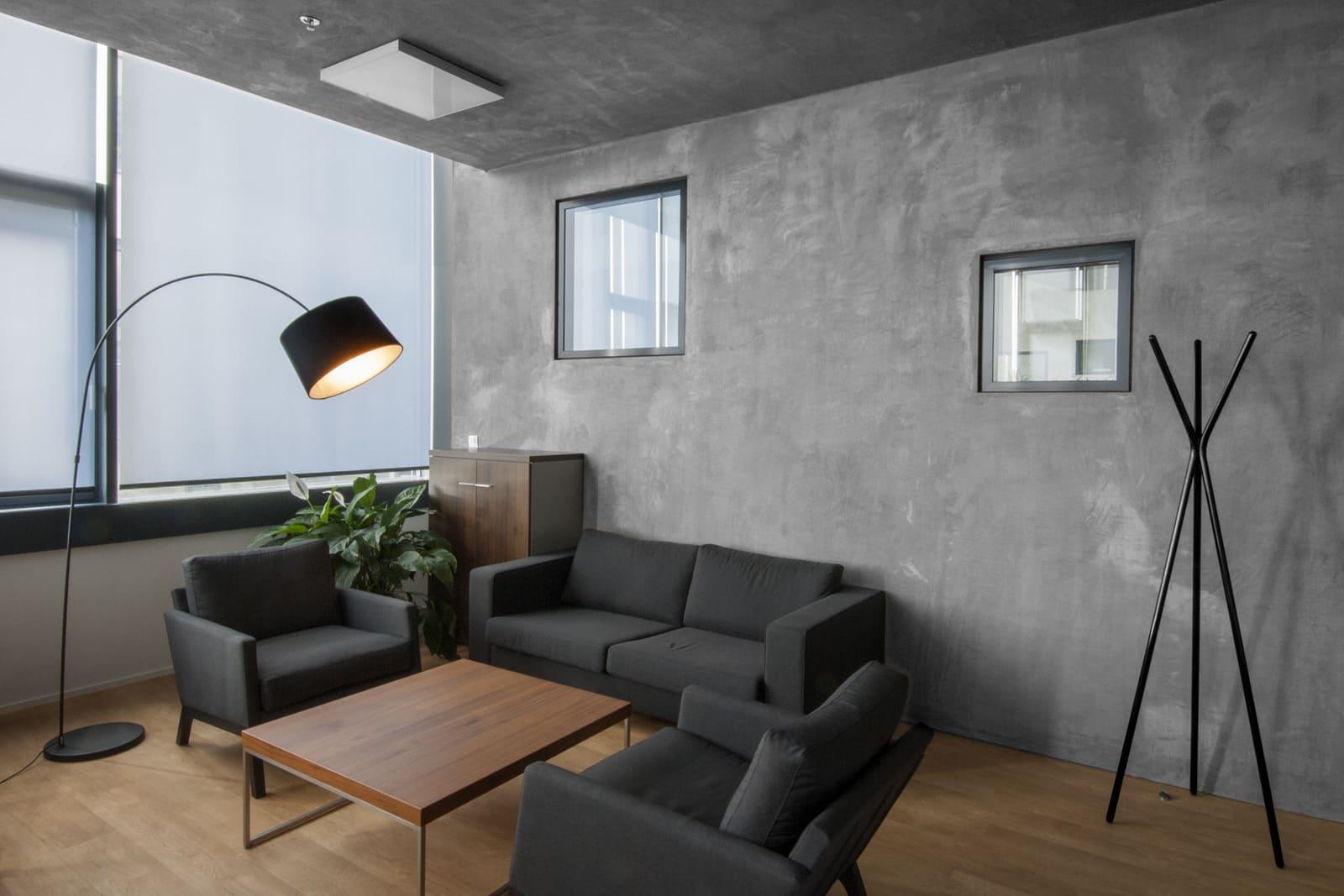 Декоративная штукатурка - лучшие красивые варианты отделки стен в интерьере 020