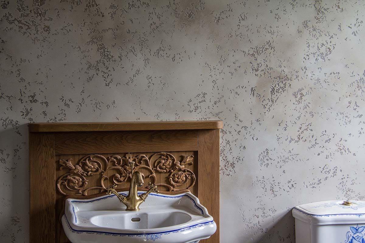 Декоративная штукатурка - лучшие красивые варианты отделки стен в интерьере 029