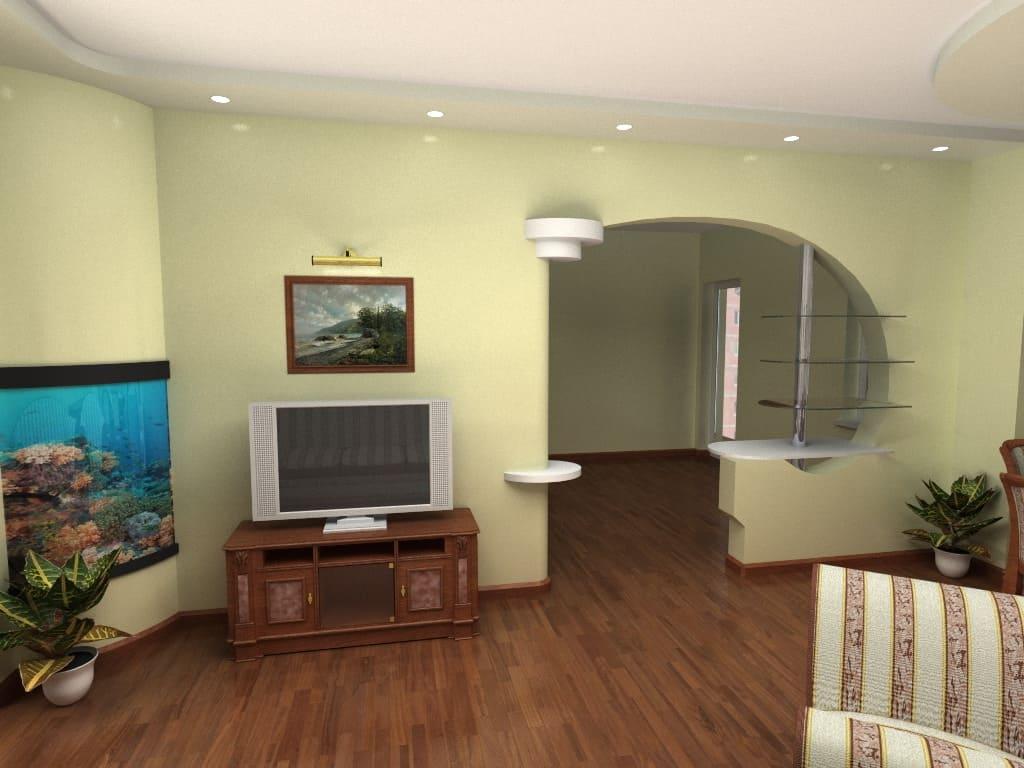 Декоративная штукатурка - лучшие красивые варианты отделки стен в интерьере 031