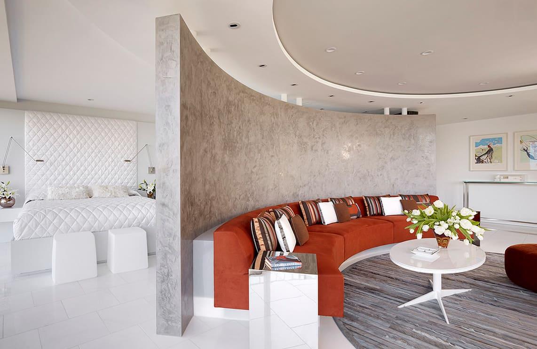 Декоративная штукатурка - лучшие красивые варианты отделки стен в интерьере 035