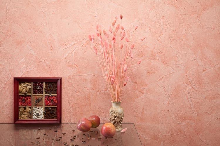 Декоративная штукатурка - лучшие красивые варианты отделки стен в интерьере 038