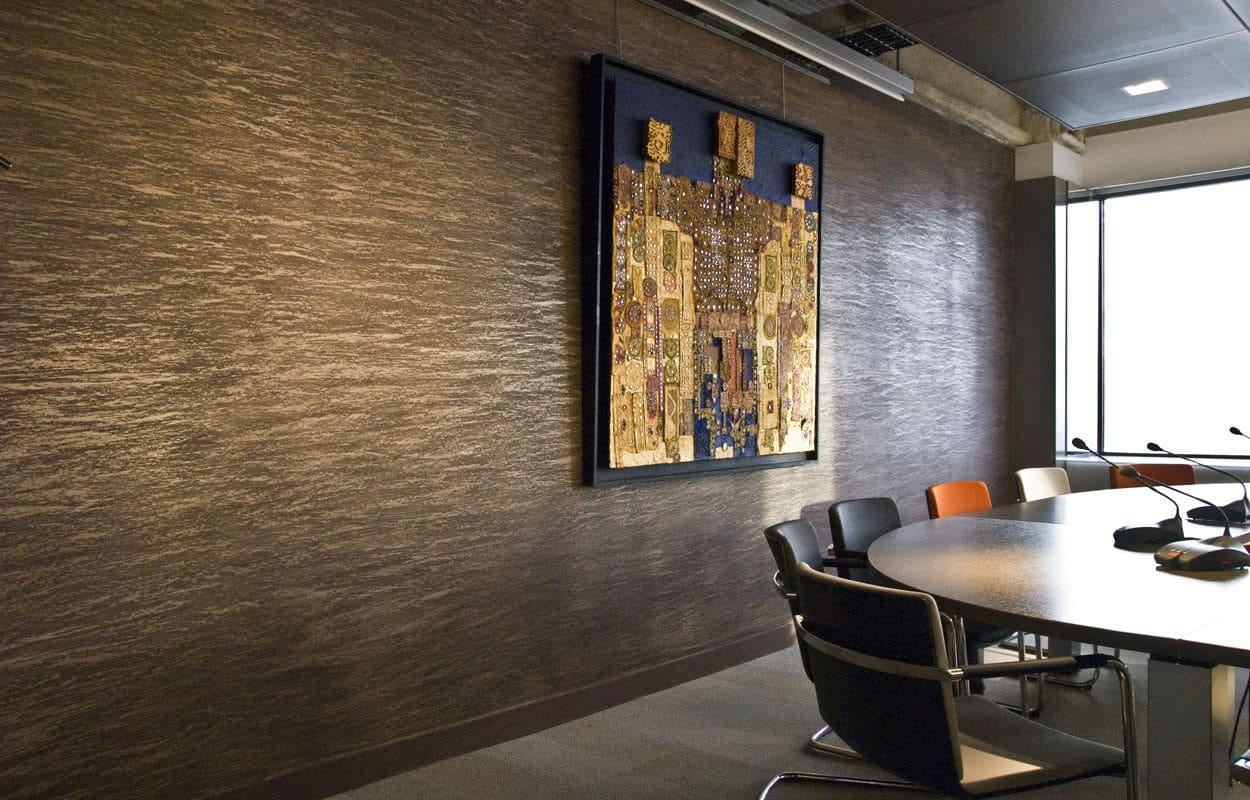 Декоративная штукатурка - лучшие красивые варианты отделки стен в интерьере 039