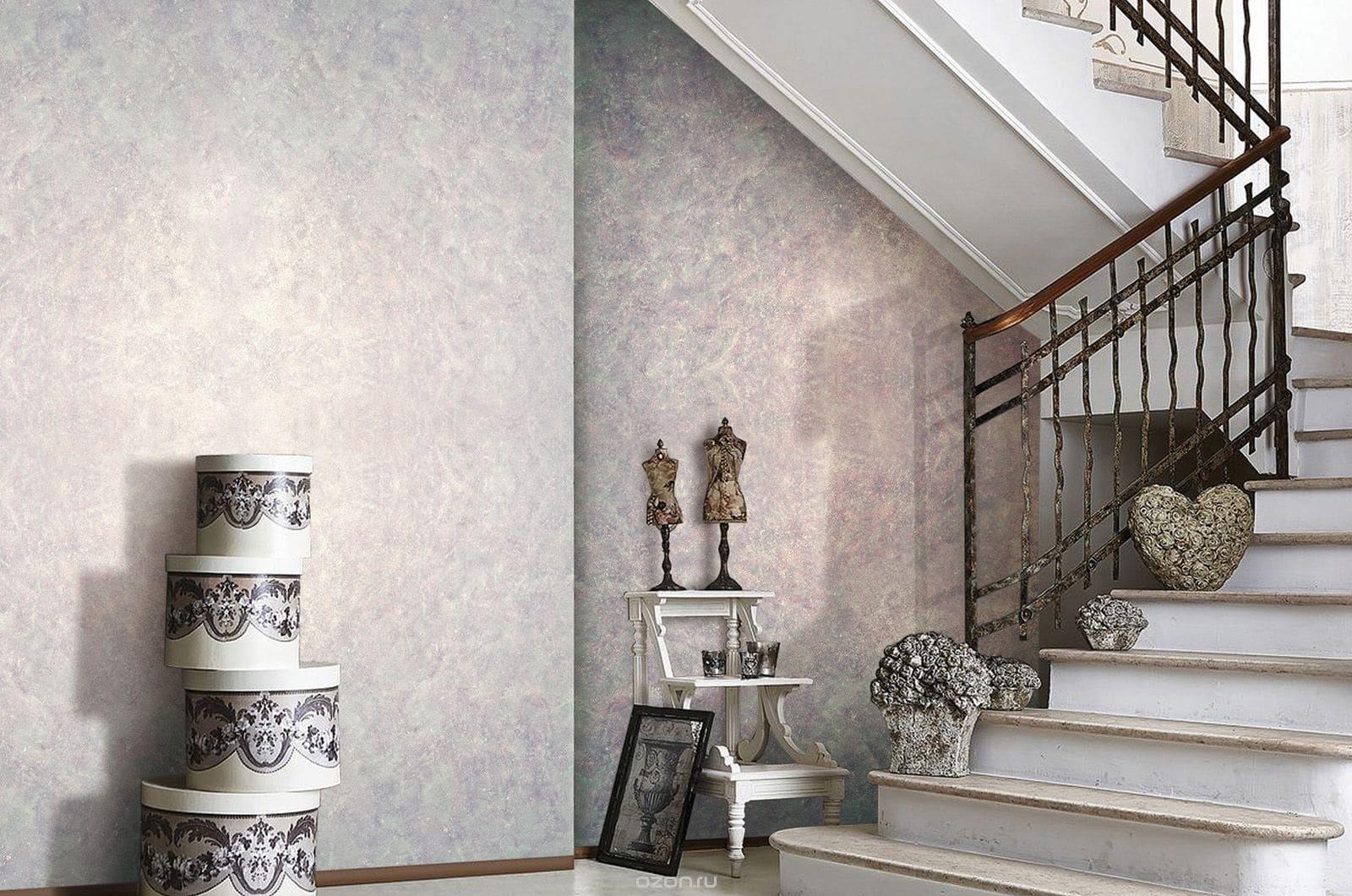 Декоративная штукатурка - лучшие красивые варианты отделки стен в интерьере 057