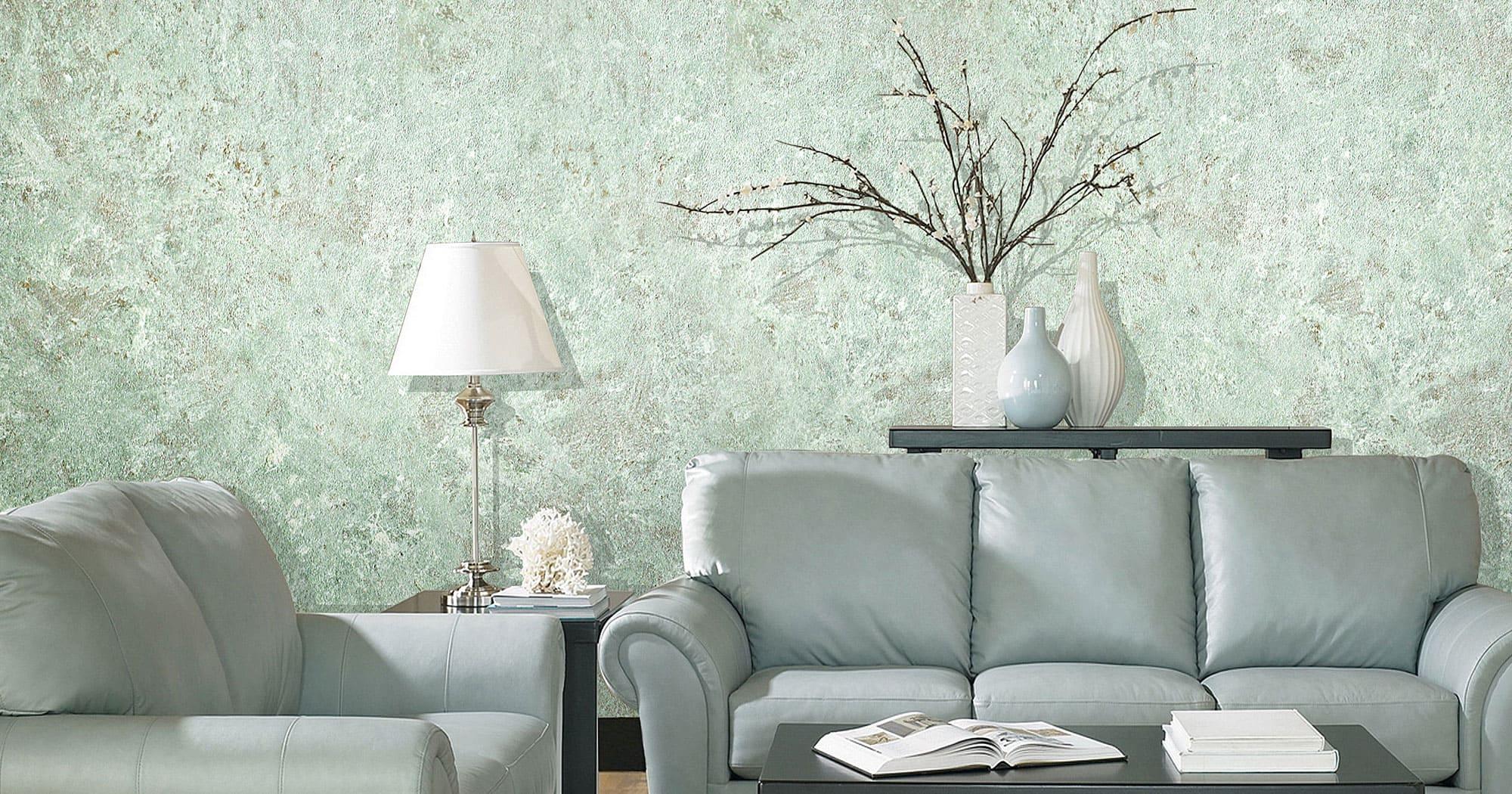 Декоративная штукатурка - лучшие красивые варианты отделки стен в интерьере 059