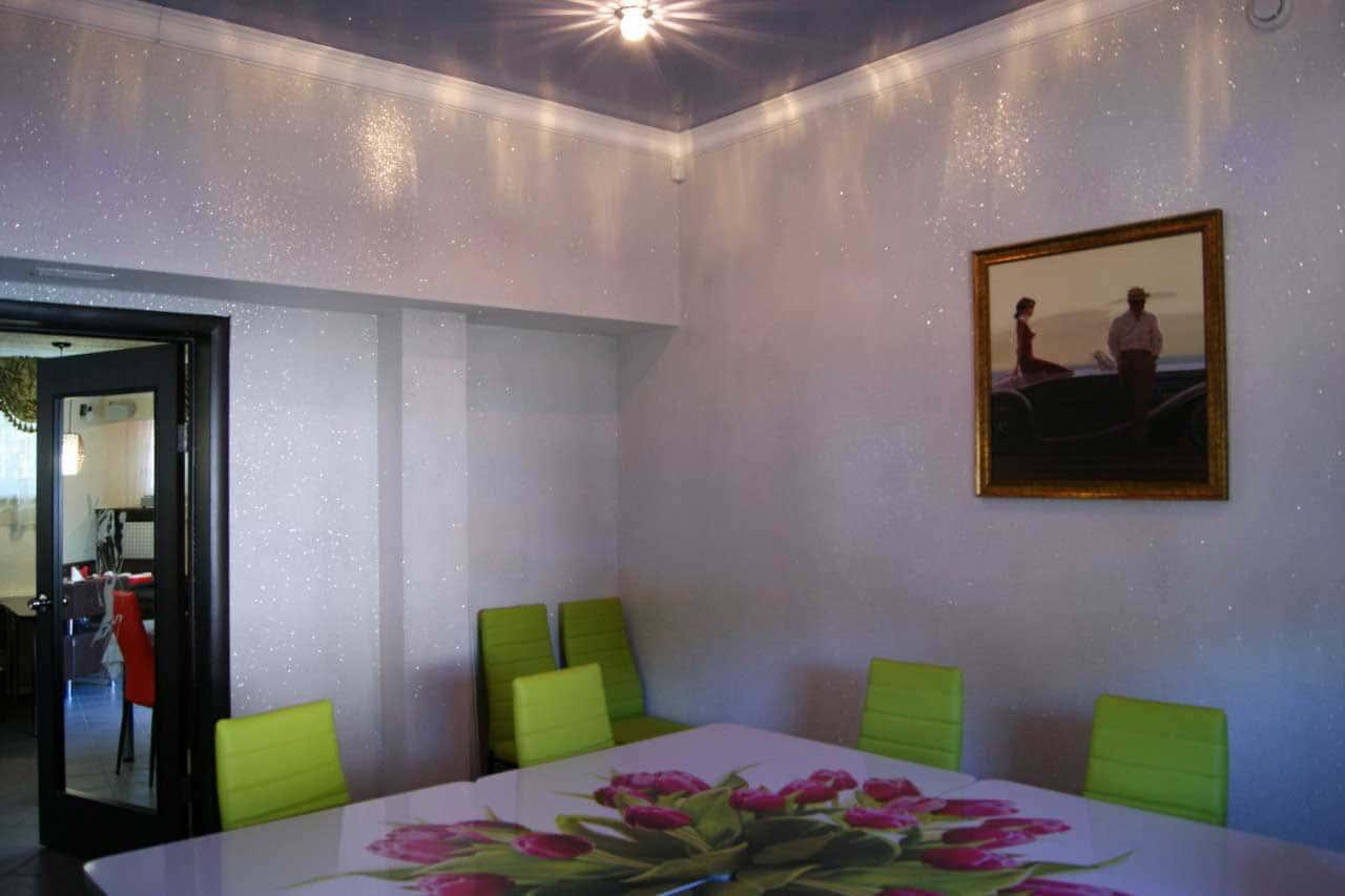 Декоративная штукатурка - лучшие красивые варианты отделки стен в интерьере 060