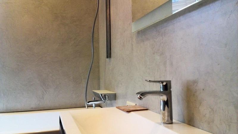 Декоративная штукатурка - лучшие красивые варианты отделки стен в интерьере 064