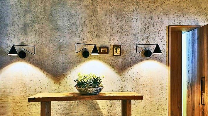Декоративная штукатурка - лучшие красивые варианты отделки стен в интерьере 066