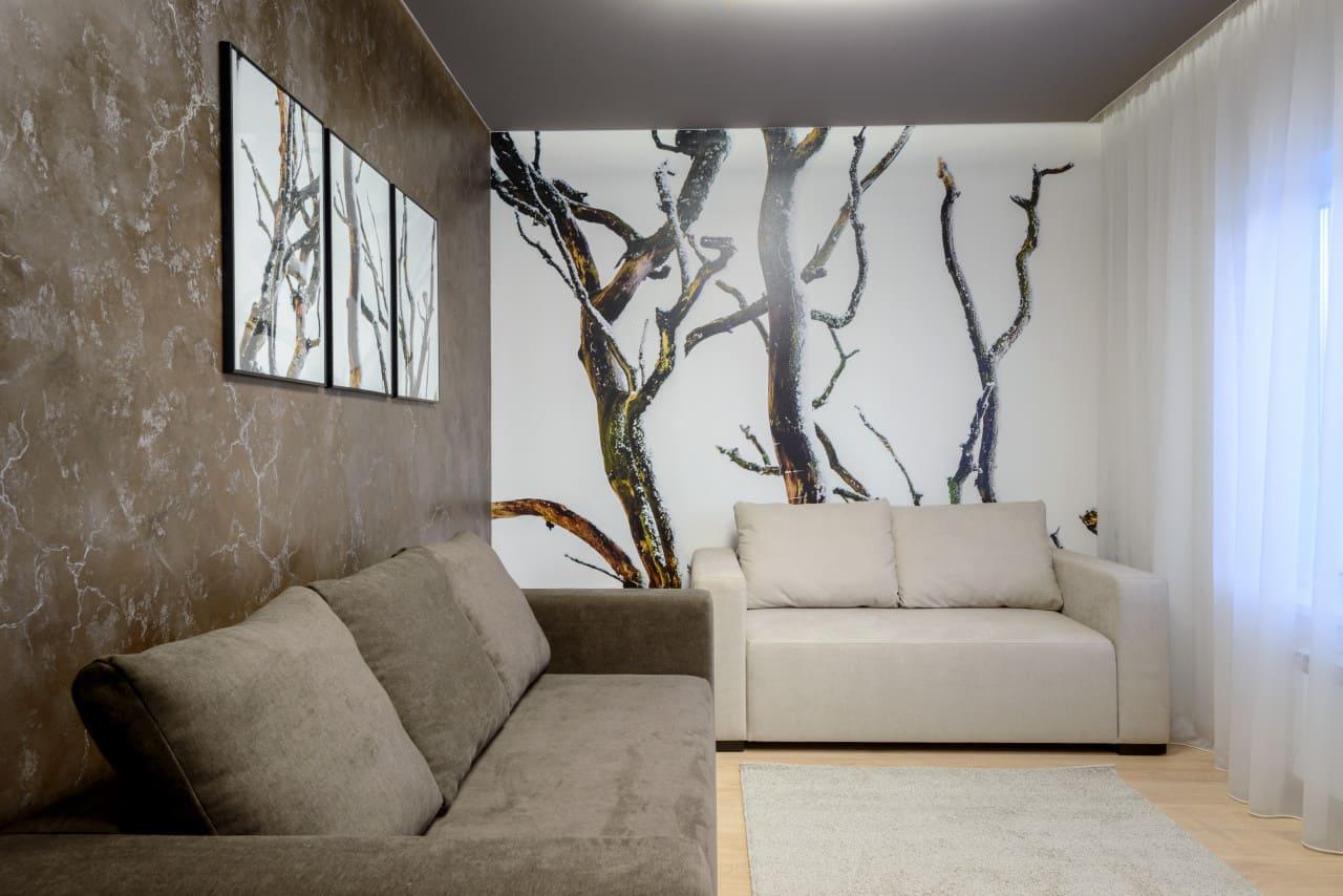 Декоративная штукатурка - лучшие красивые варианты отделки стен в интерьере 068