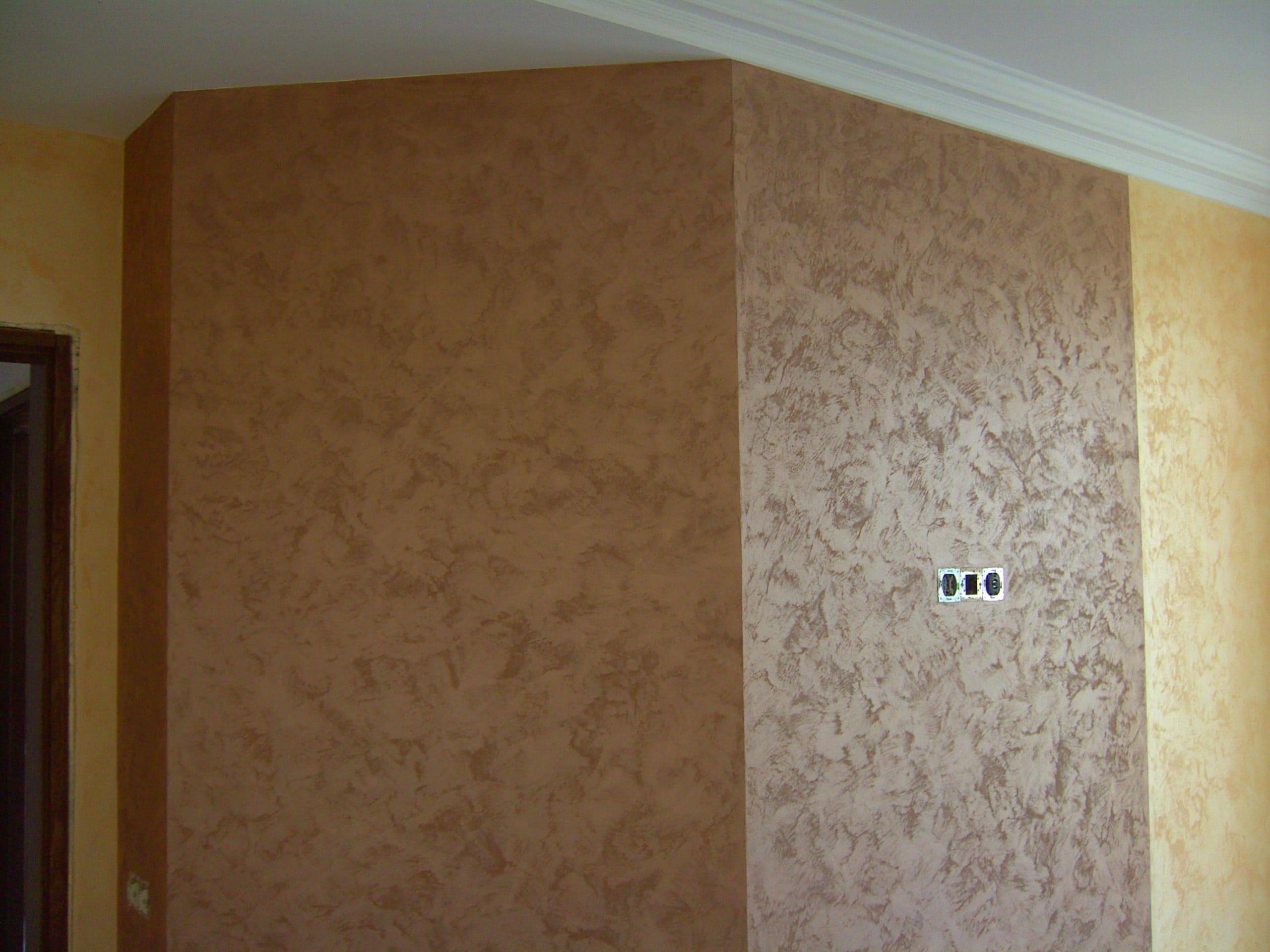 Декоративная штукатурка - лучшие красивые варианты отделки стен в интерьере 071
