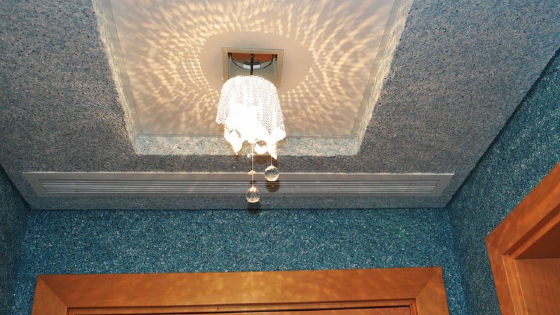 Декоративная штукатурка - лучшие красивые варианты отделки стен в интерьере 073