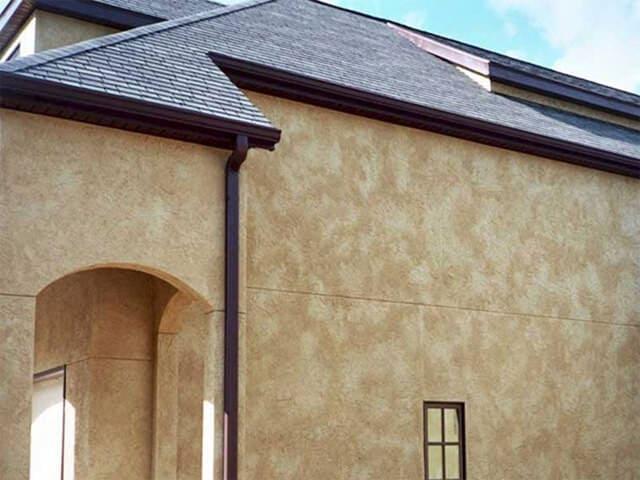 Декоративная штукатурка - лучшие красивые варианты отделки стен в интерьере 077