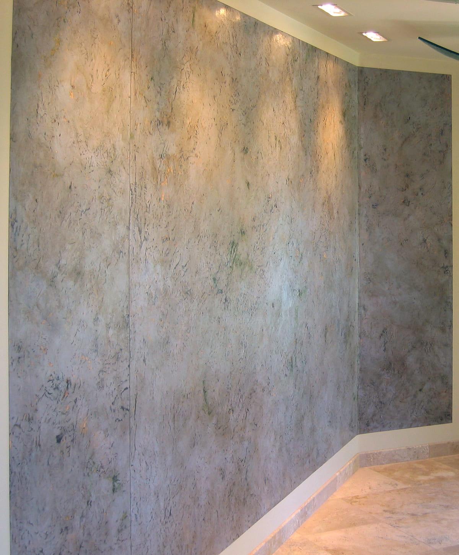 Декоративная штукатурка - лучшие красивые варианты отделки стен в интерьере 079