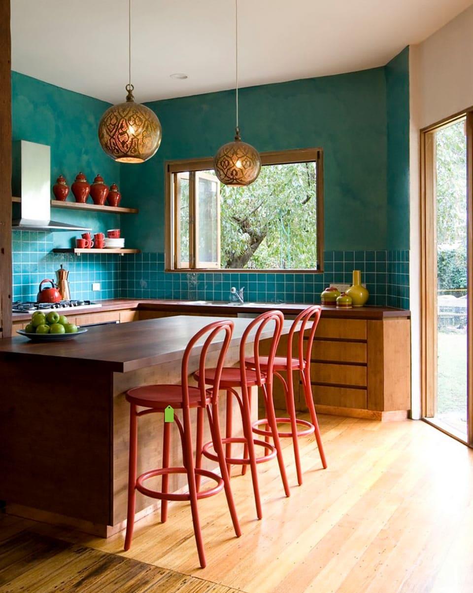 Декоративная штукатурка - лучшие красивые варианты отделки стен в интерьере 081