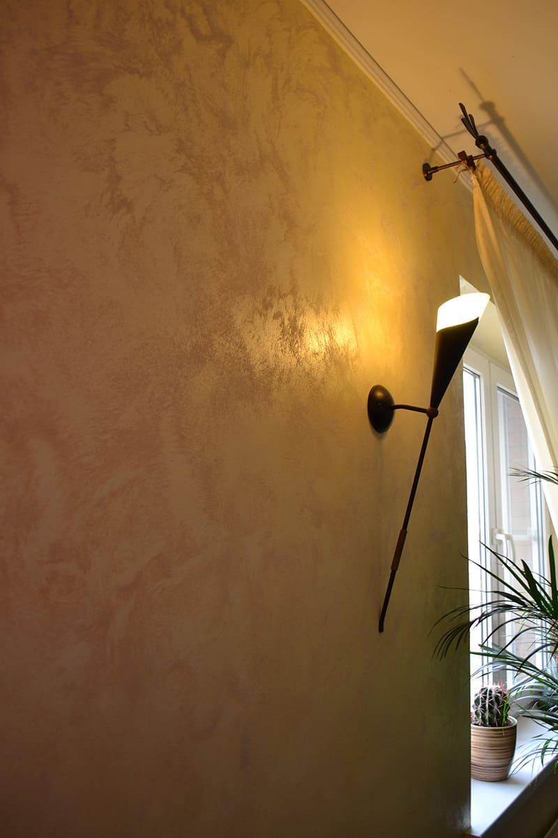 Декоративная штукатурка - лучшие красивые варианты отделки стен в интерьере 082
