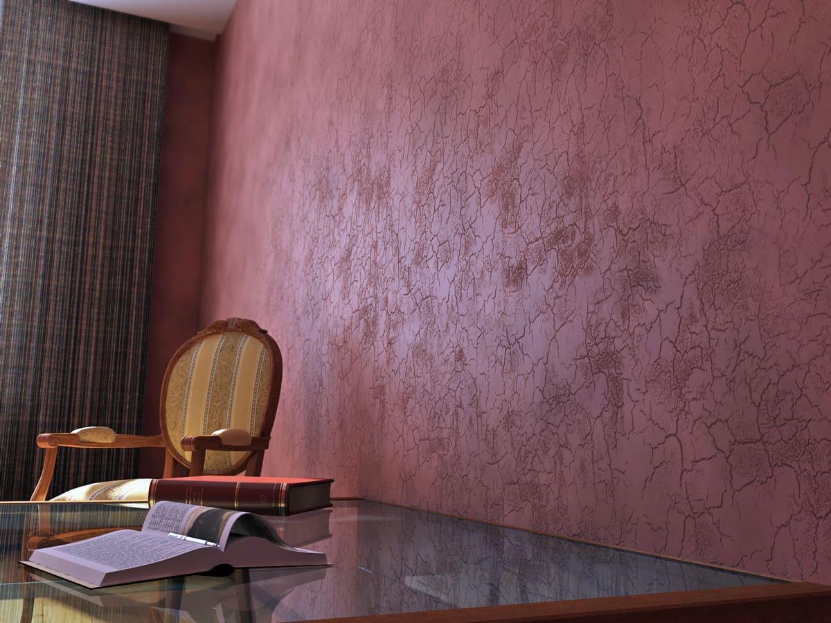 Декоративная штукатурка - лучшие красивые варианты отделки стен в интерьере 084
