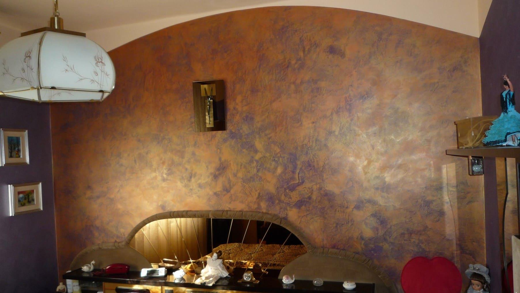 Декоративная штукатурка - лучшие красивые варианты отделки стен в интерьере 087