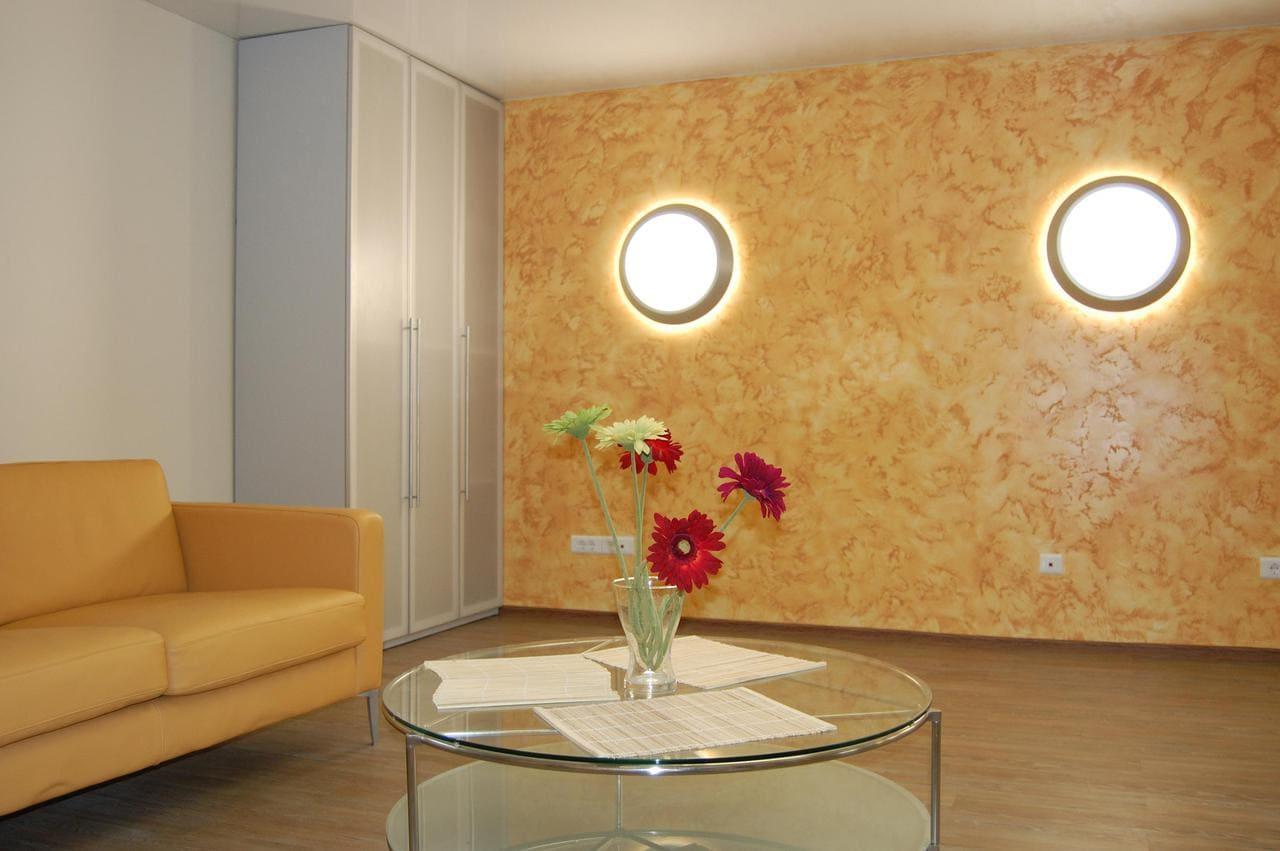 Декоративная штукатурка - лучшие красивые варианты отделки стен в интерьере 088