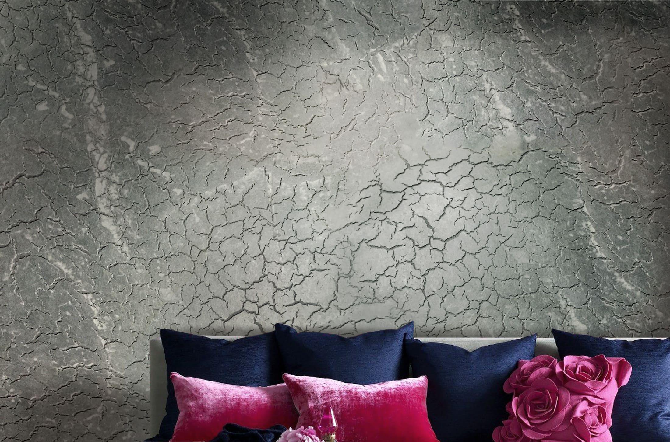 Декоративная штукатурка - лучшие красивые варианты отделки стен в интерьере 091