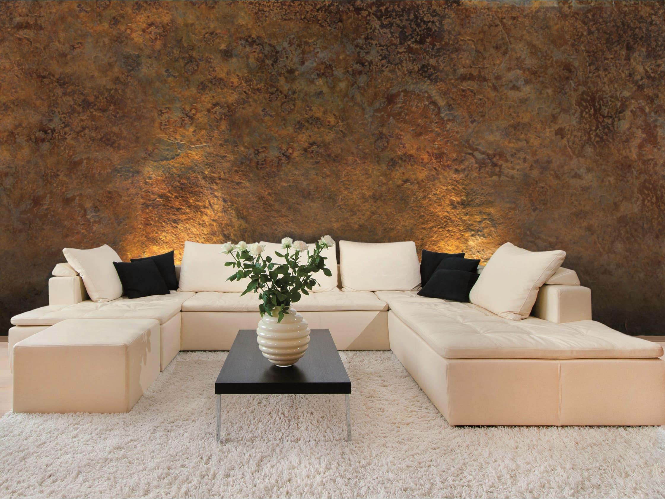 Декоративная штукатурка - лучшие красивые варианты отделки стен в интерьере 093