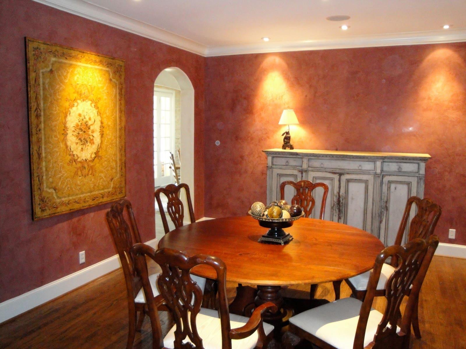 Декоративная штукатурка - лучшие красивые варианты отделки стен в интерьере 094