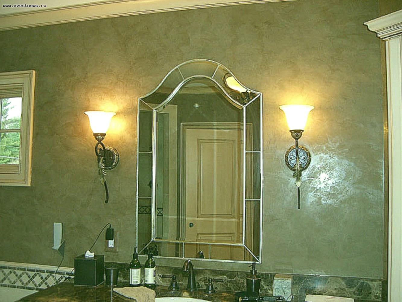 Декоративная штукатурка - лучшие красивые варианты отделки стен в интерьере 099