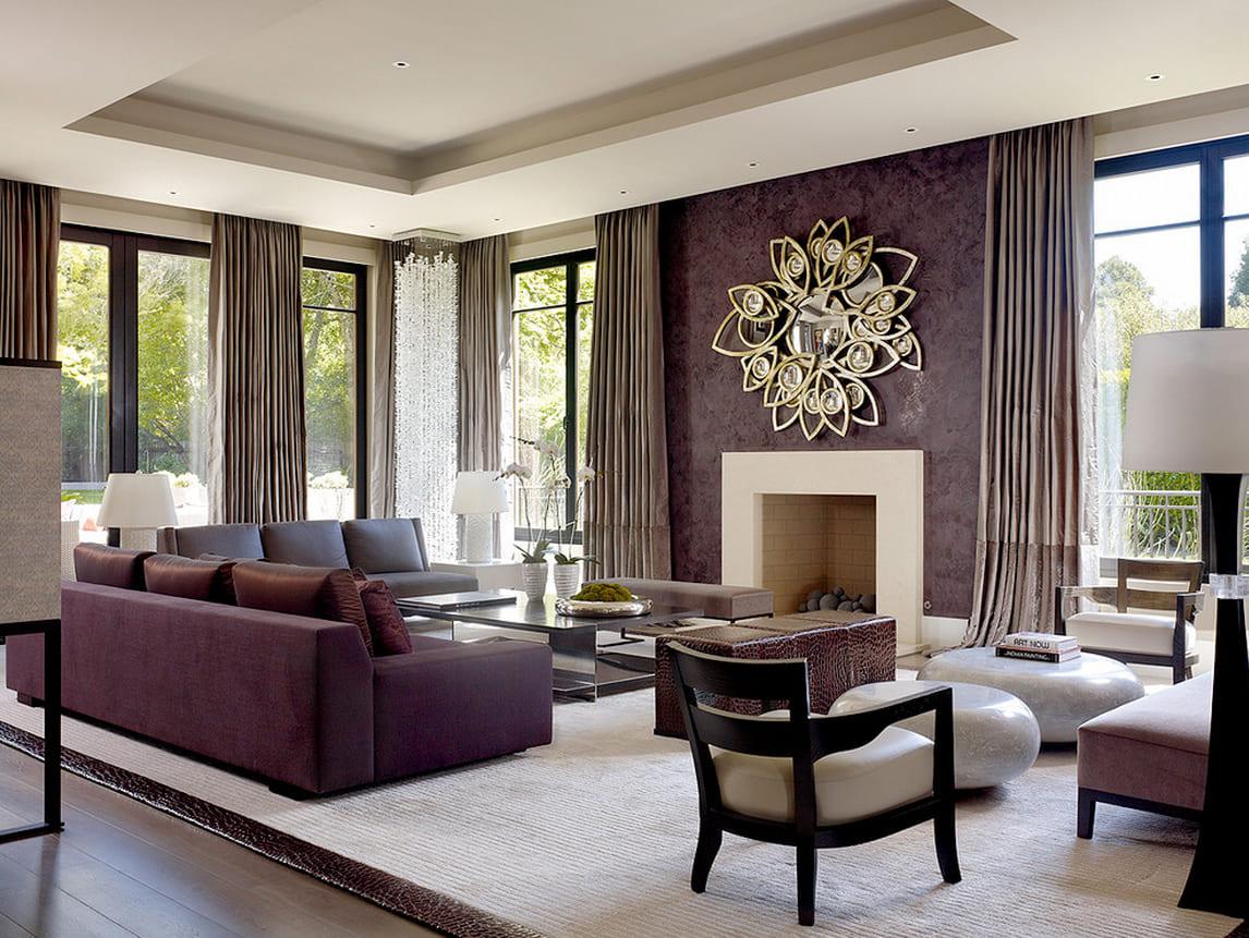 Декоративная штукатурка - лучшие красивые варианты отделки стен в интерьере 106