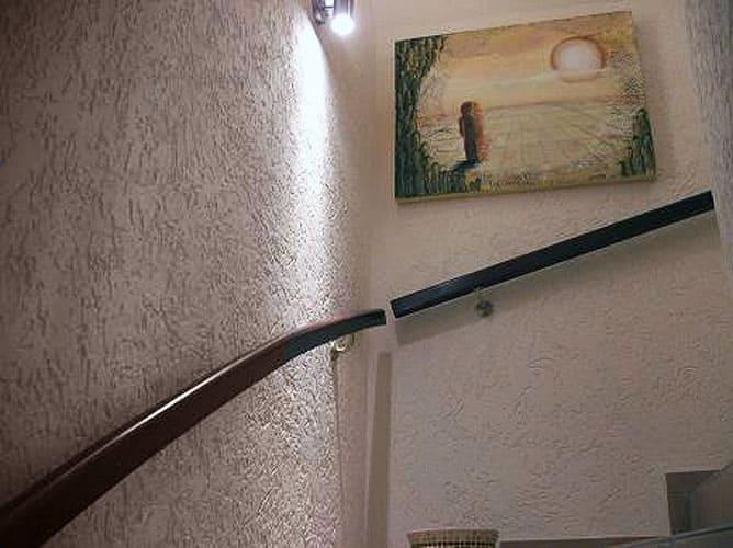 Декоративная штукатурка - лучшие красивые варианты отделки стен в интерьере 107
