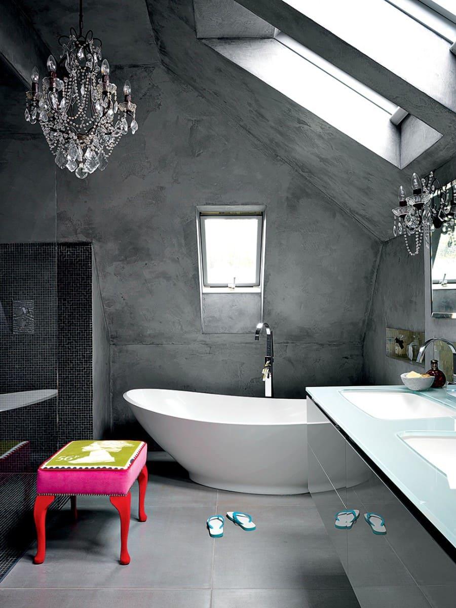Декоративная штукатурка - лучшие красивые варианты отделки стен в интерьере 113