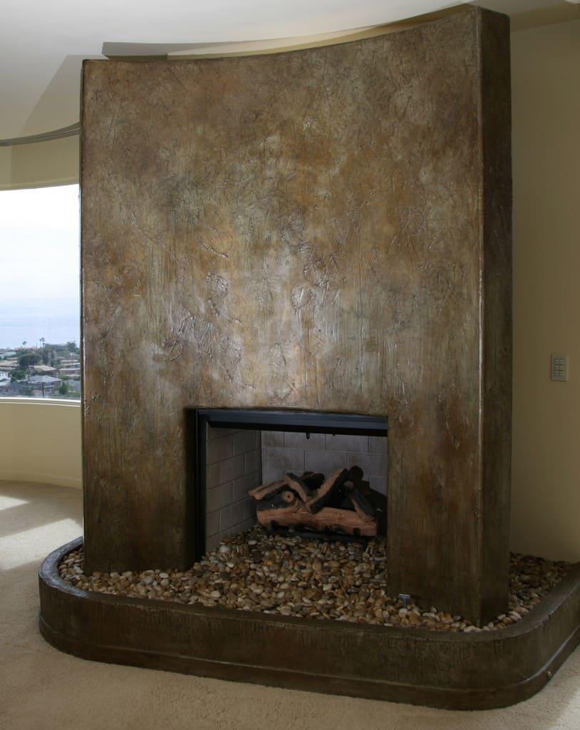 Декоративная штукатурка - лучшие красивые варианты отделки стен в интерьере 117