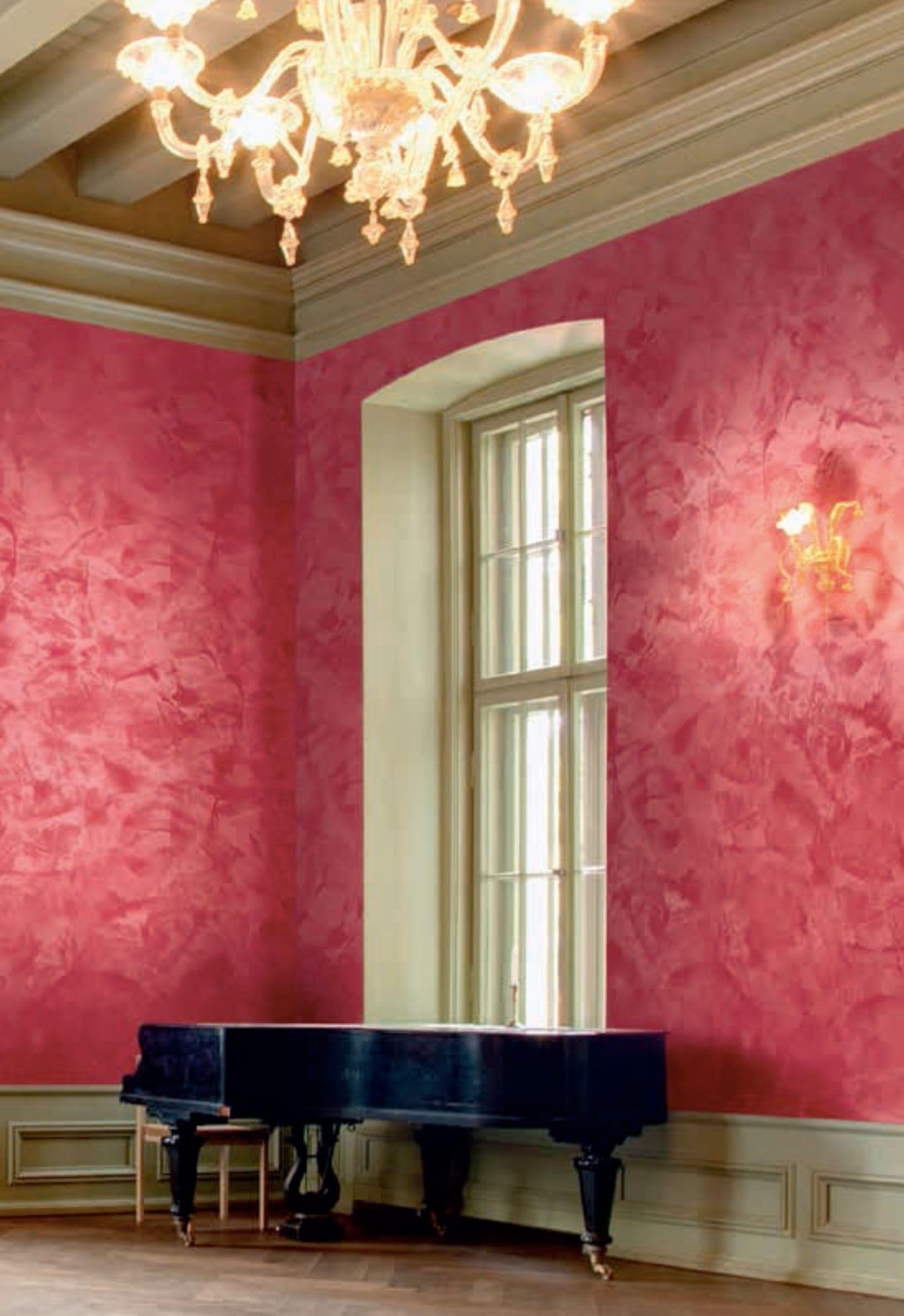 Декоративная штукатурка - лучшие красивые варианты отделки стен в интерьере 118