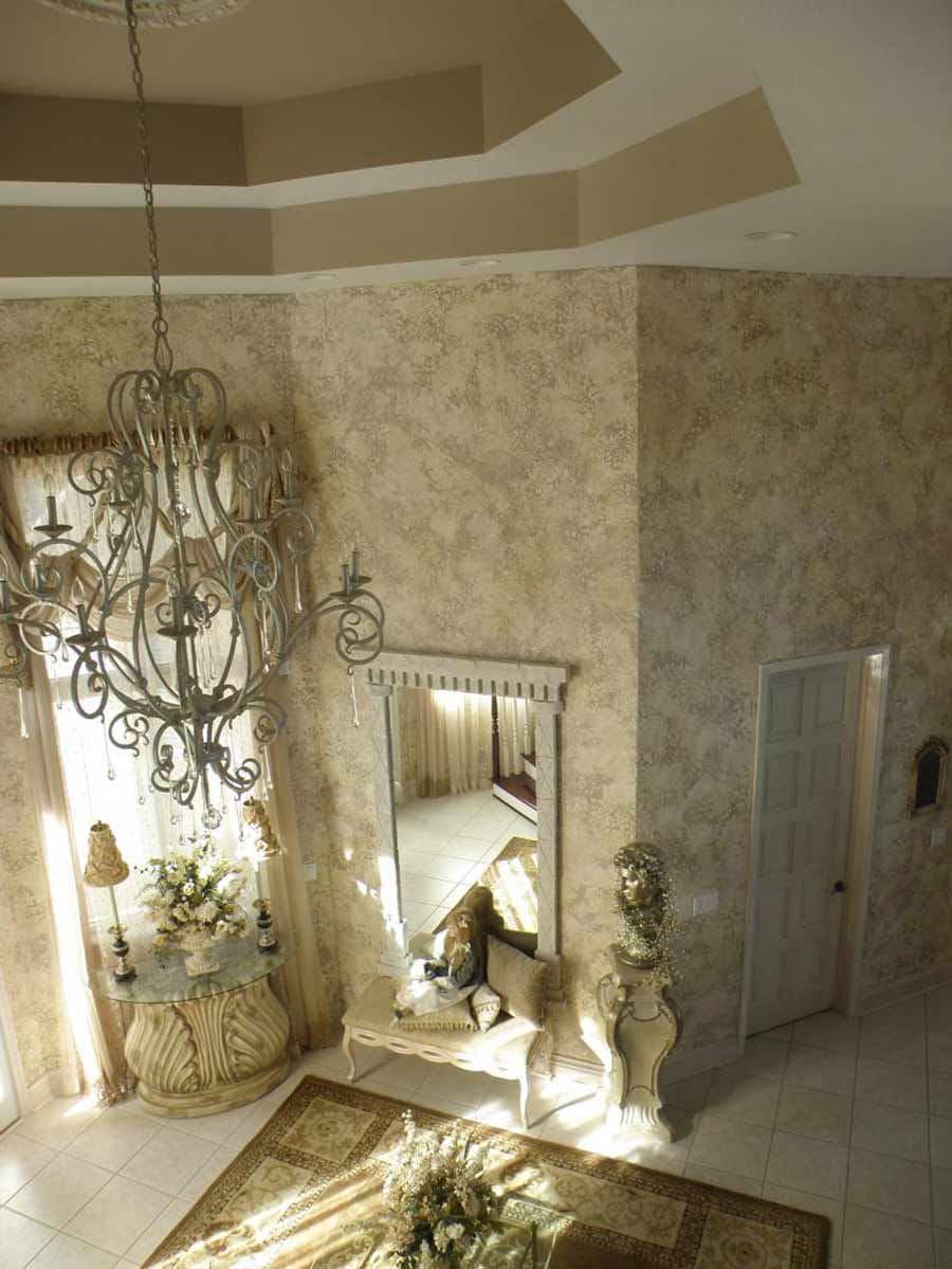 Декоративная штукатурка - лучшие красивые варианты отделки стен в интерьере 120