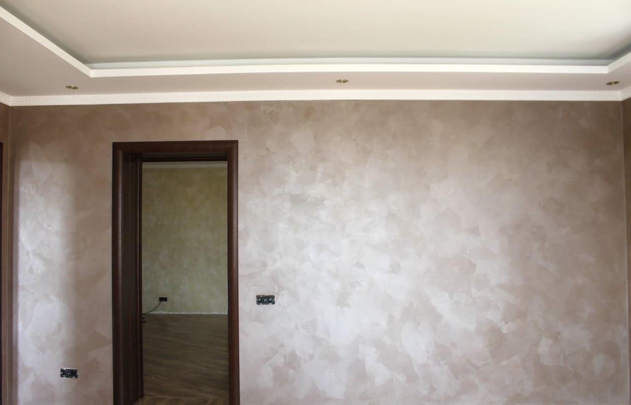 Декоративная штукатурка - лучшие красивые варианты отделки стен в интерьере 121