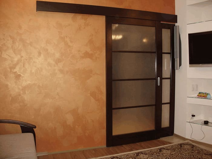 Декоративная штукатурка - лучшие красивые варианты отделки стен в интерьере 122