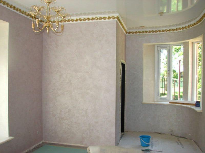 Декоративная штукатурка - лучшие красивые варианты отделки стен в интерьере 123