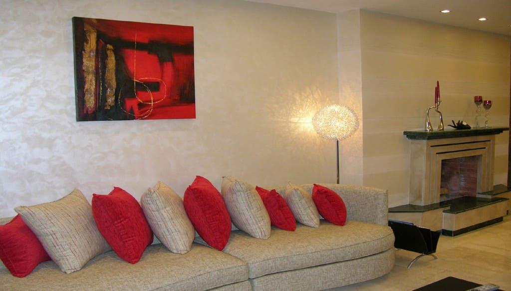 Декоративная штукатурка - лучшие красивые варианты отделки стен в интерьере 125
