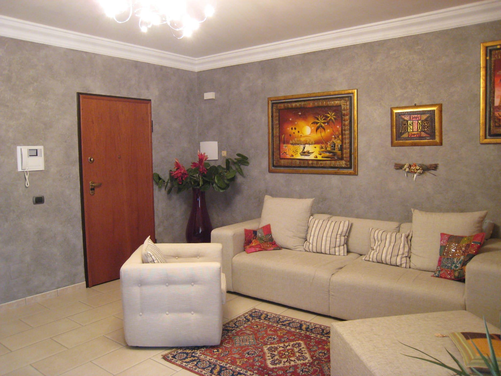 Декоративная штукатурка - лучшие красивые варианты отделки стен в интерьере 126