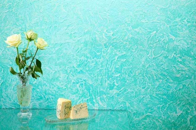 Декоративная штукатурка - лучшие красивые варианты отделки стен в интерьере 127