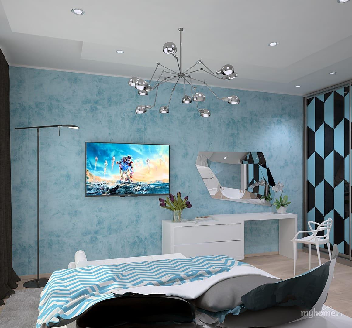Декоративная штукатурка - лучшие красивые варианты отделки стен в интерьере 128