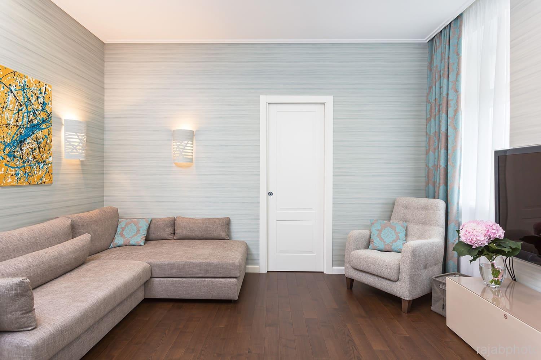 Декоративная штукатурка - лучшие красивые варианты отделки стен в интерьере 129