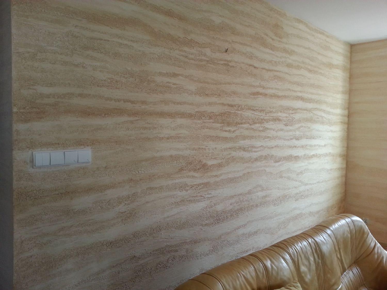 Декоративная штукатурка - лучшие красивые варианты отделки стен в интерьере 131