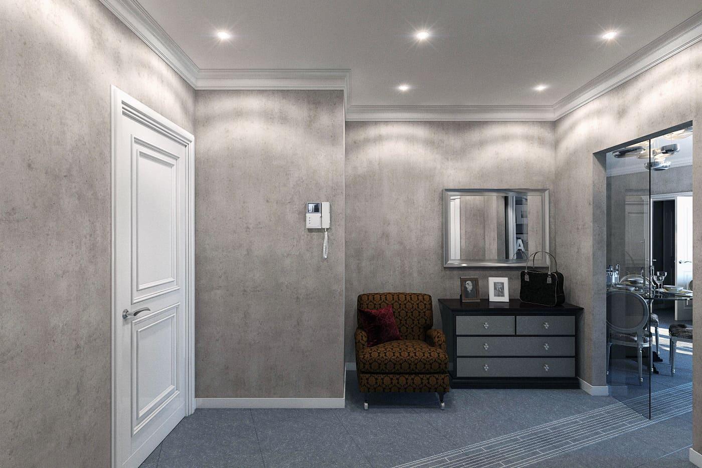Декоративная штукатурка - лучшие красивые варианты отделки стен в интерьере 133