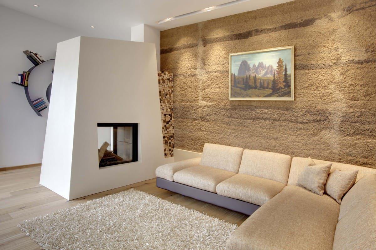 Декоративная штукатурка - лучшие красивые варианты отделки стен в интерьере 134