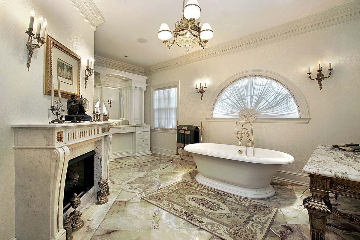 Декоративная штукатурка - лучшие красивые варианты отделки стен в интерьере 135
