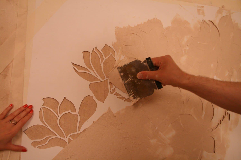Декоративная штукатурка - лучшие красивые варианты отделки стен в интерьере 152