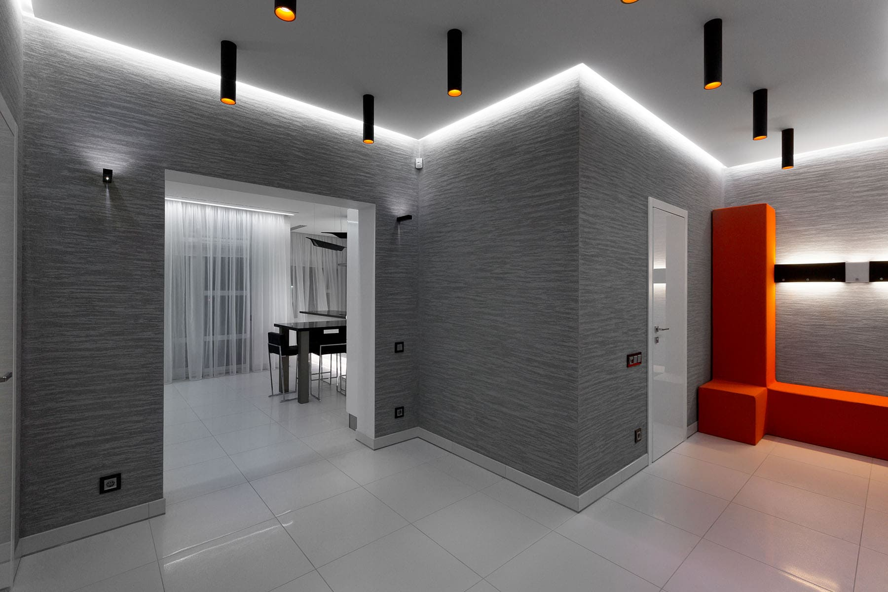 Декоративная штукатурка - лучшие красивые варианты отделки стен в интерьере 171