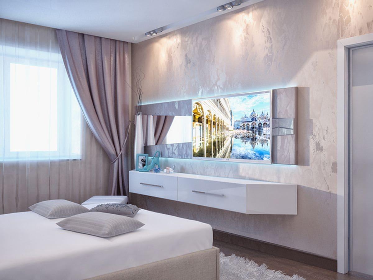 Декоративная штукатурка - лучшие красивые варианты отделки стен в интерьере 172