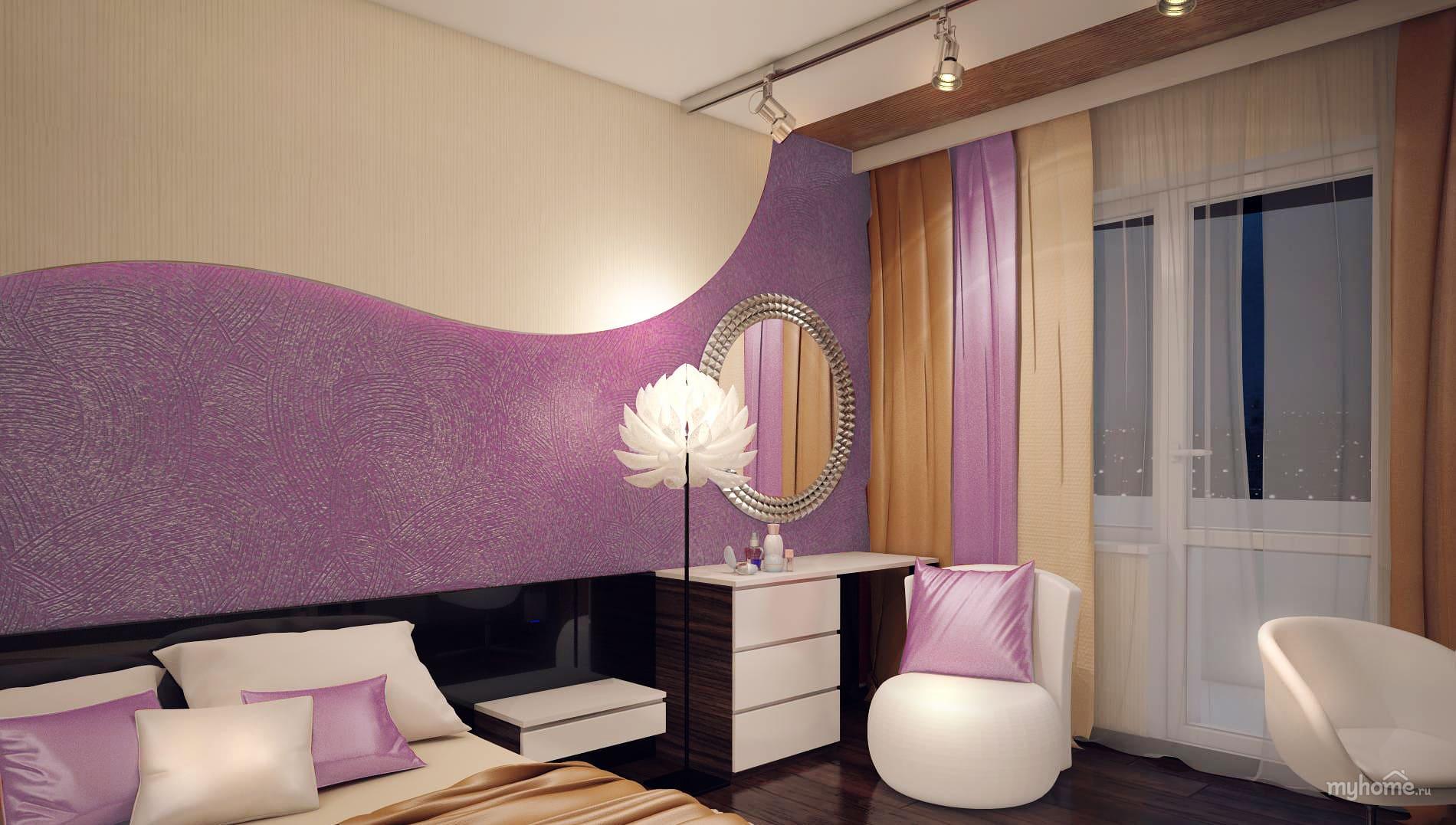 Декоративная штукатурка - лучшие красивые варианты отделки стен в интерьере 174