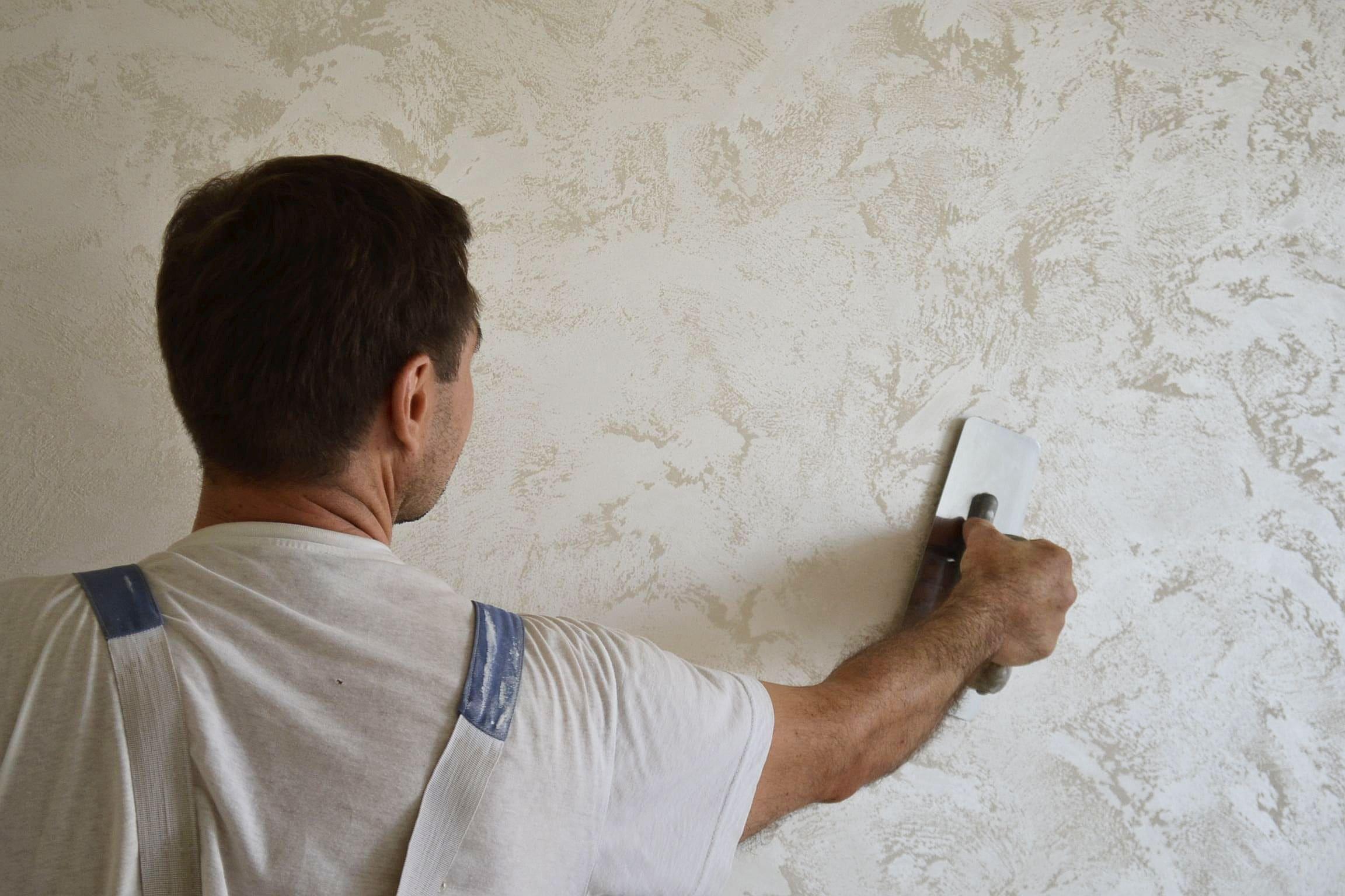 Декоративная штукатурка - лучшие красивые варианты отделки стен в интерьере 181