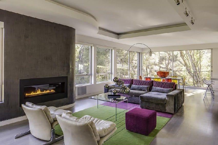 Декоративная штукатурка - лучшие красивые варианты отделки стен в интерьере 187