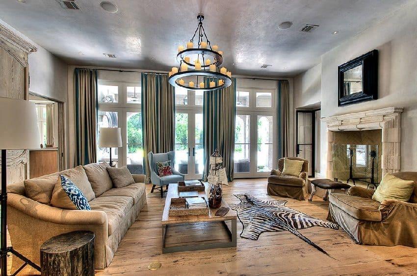 Декоративная штукатурка - лучшие красивые варианты отделки стен в интерьере 192